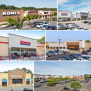 A selection of the malls securing the refinancing.