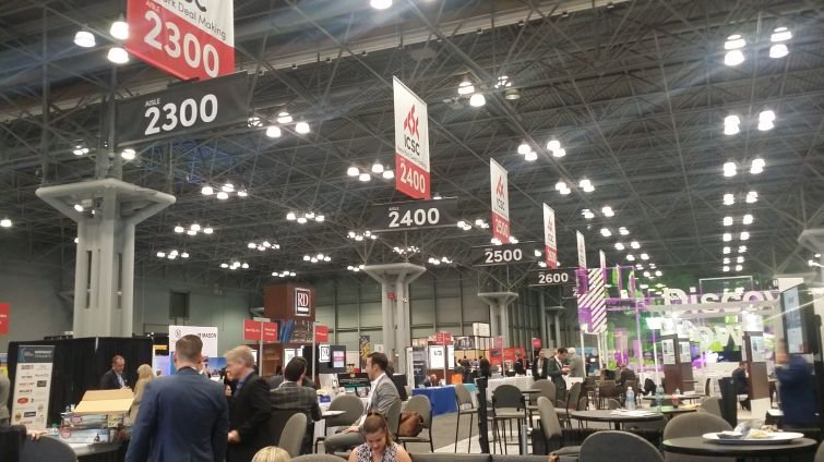 Thousands gathered at the 2017 ICSC New York Deal Making conference at the Jacob K. Javits Convention Center.