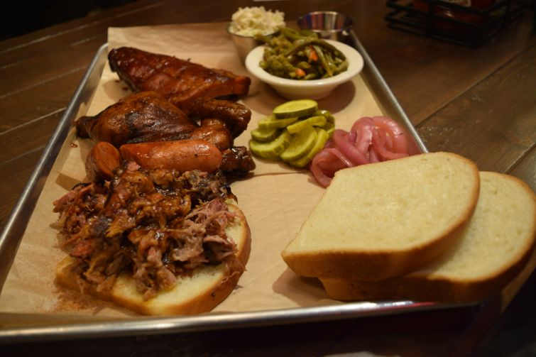 Pulled pork, ribs, chicken and more.