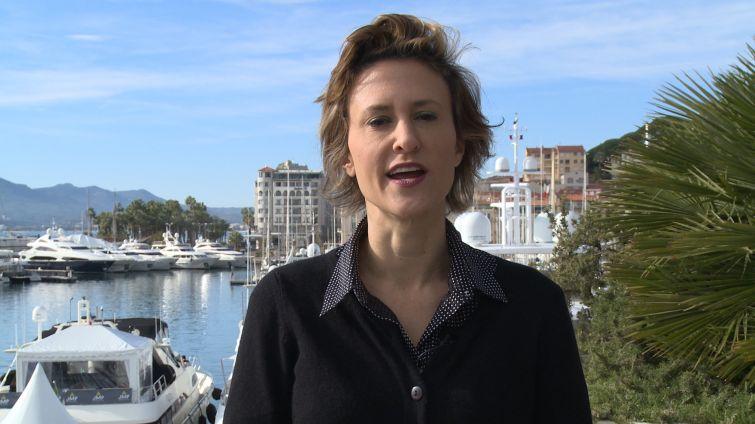 Lauren Elkies Schram at MAPIC.