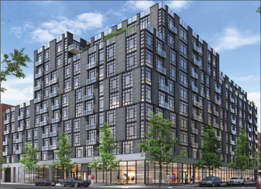 A rendering of 948 Myrtle Avenue.
