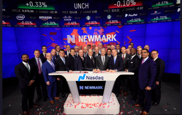 Newmark Group becomes a public company in the Nasdaq.