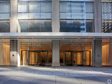 Cushman & Wakefield's New York City offices at 1290 Avenue of the Americas.