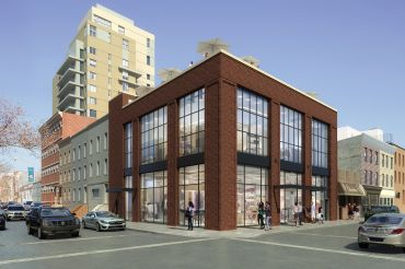 Rendering of 180 Bedford Avenue in Williamsburg.