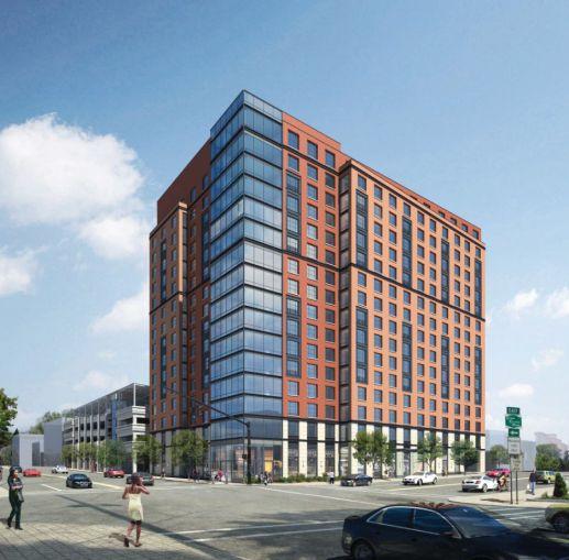 A rendering of 42 Broad Street West.