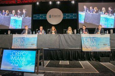 From left: David McCarthy, Marty Schuh, Lisa Pendergast, Christina Zausner, Michael Flood and Scott Sinder.