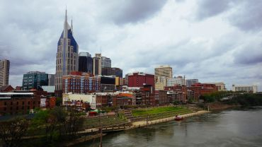 View of downtown Nashville, Tenn.