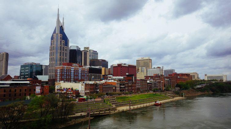 View of downtown Nashville, Tenn.
