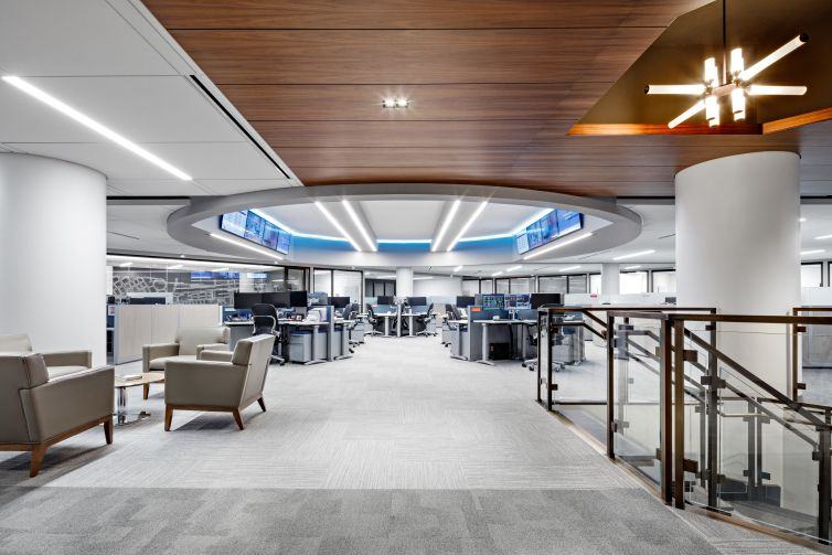 The Federal Home Loan Bank of New York's new offices at 101 Park Avenue.