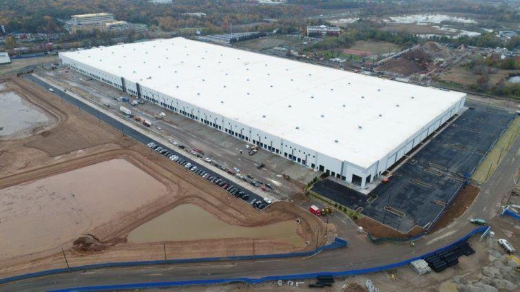 Amazon's future fulfillment center at 586 Gulf Avenue.