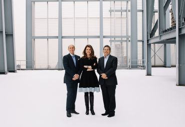 L&L's David Levinson, Forest City's MaryAnne Gilmartin, and L&L's Robert Lapidus are teaming up to start a new firm, L&L MAG.