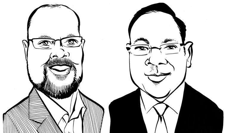 Matthew Powers and Shlomo Chopp