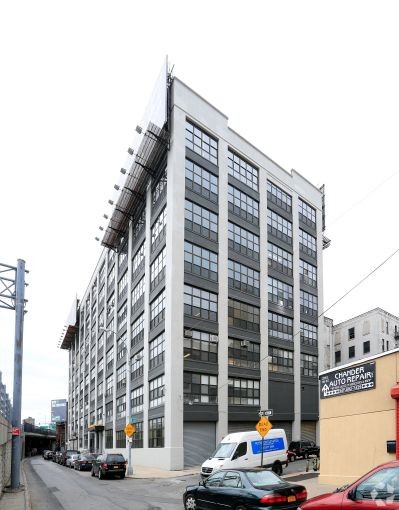 The Bruckner Building, at 2417 Third Avenue in the Mott Haven section of the South Bronx, has been transformed from a partially abandoned warehouse to creative office and industrial space.