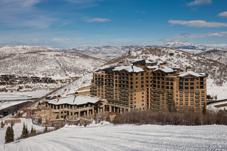 The St. Regis Deer Valley in Park City, Utah.