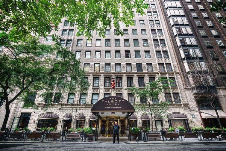 The Talbott Hotel in Chicago.