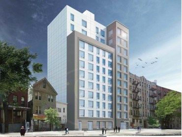 A rendering of The Grand.
