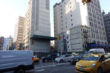 The development site at 111 Varick Street.