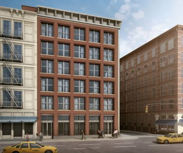 A rendering of the planned development at 11 Greene Street in SoHo.
