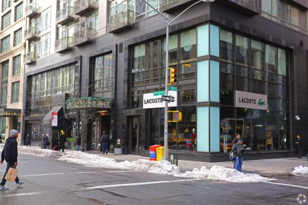 420 Park Avenue South before Lacoste closed.