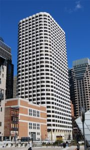 The Keystone Building at 99 High Street in Boston's financial district.