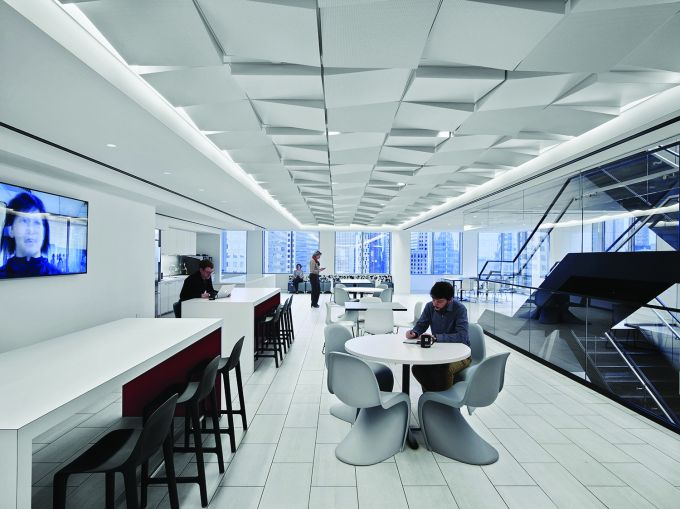 TPG Architecture oversaw the design of Associated Press' new offices.