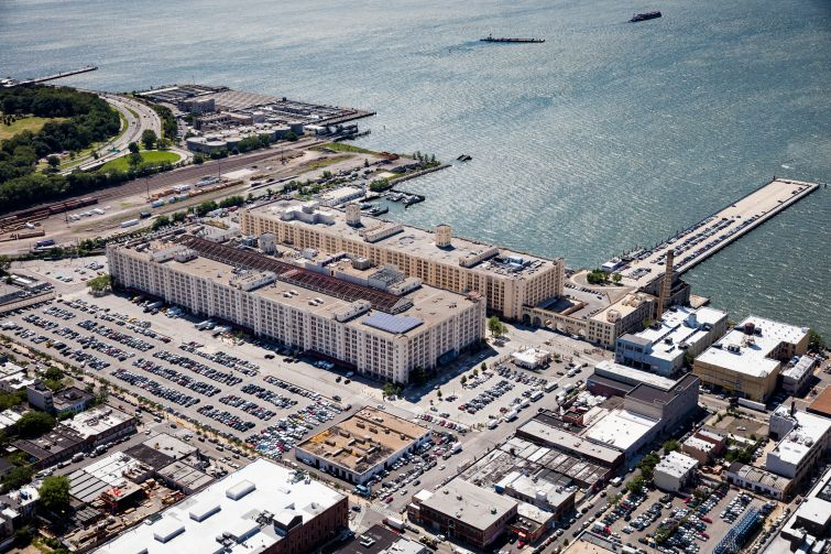 The Brooklyn Army Terminal.