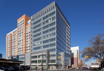 The first phase of Flushing Commons.