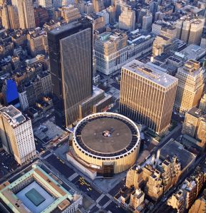 Flanking Madison Square Garden, 1 Penn Plaza (left) and 2 Penn Plaza (right) are Vornado's largest assets in the area surrounding Penn Station.