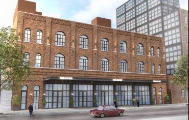 A rendering of 61 North 11th Street in Williamsburg.