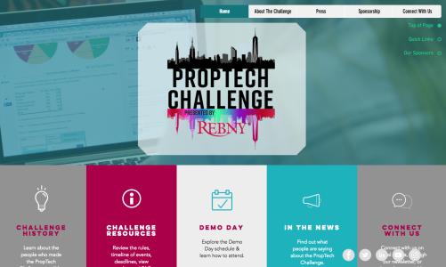 REBNY PropTech Challenge website.