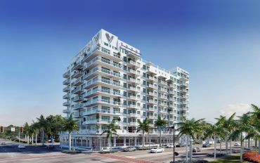 A rendering of The Vantage in St. Petersburg, Florida.