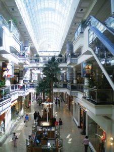 The interior of the Westside Pavilion, which is to be redeveloped as One Westside.