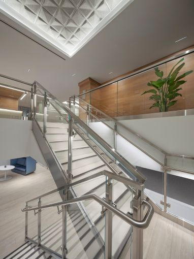 Montroy Andersen redesigned an internal staircase.