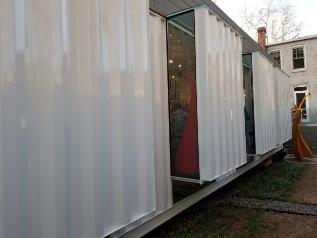 Exterior of Studio A. Photo: Christina Sturdivant Sani