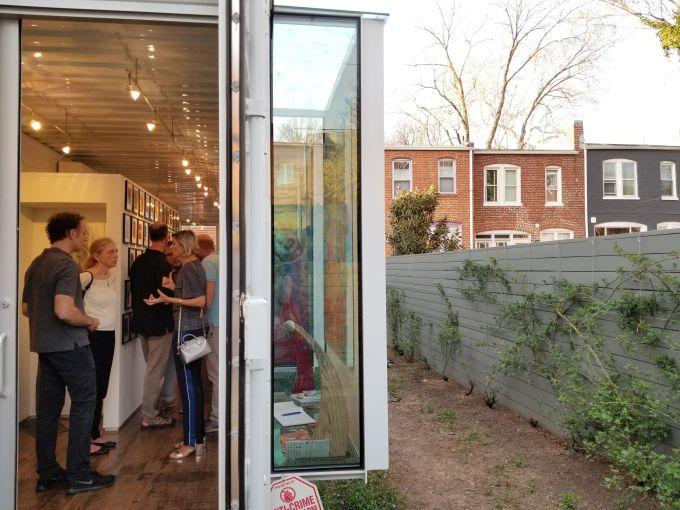 A peek inside of Studio A. Photo: Christina Sturdivant Sani