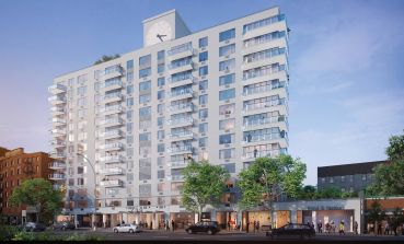 Rendering of 250 East Houston Street.