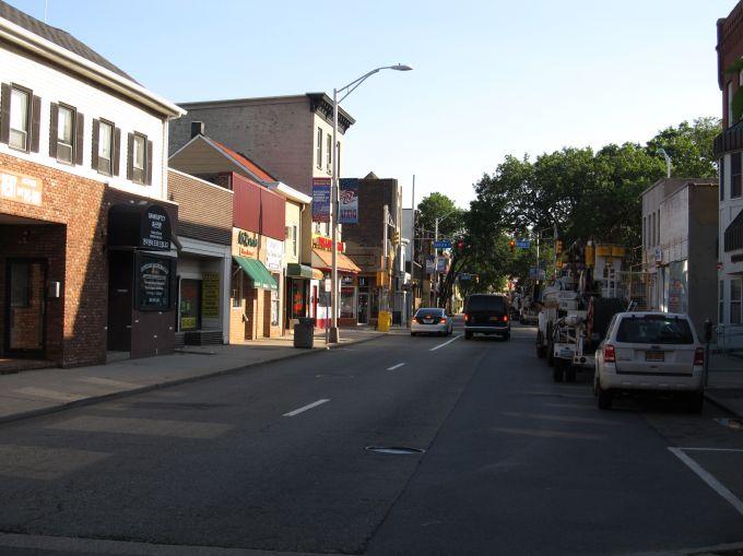 Main Street in Hackensack, N.J.