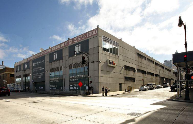 The FedEx distribution facility at 660 12th Avenue.