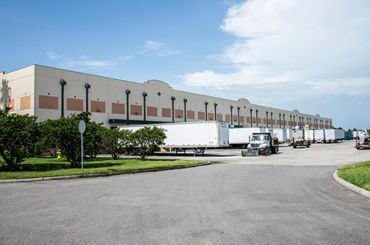 A warehouse included in the portfolio.