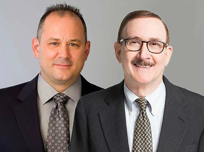 Eric Thompson, left, and Larry Kay.