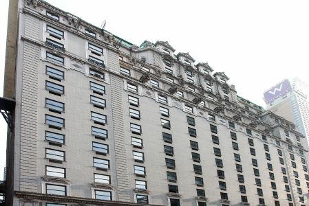 The Paramount Hotel.