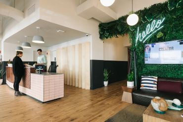 WeWork White House location at 1440 G Street NW.
