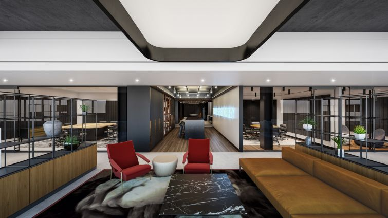 A lounge and conference rooms will be avaliable for tenant's employees.