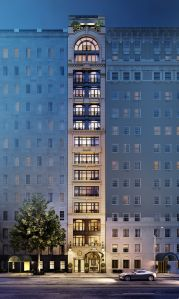 A rendering of 27 East 79th Street.