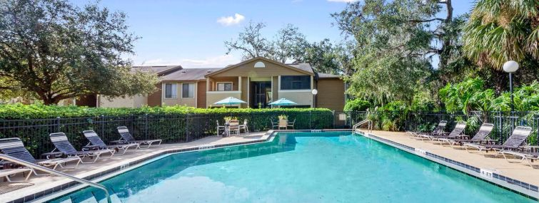 A Florida apartment complex included in the transaction