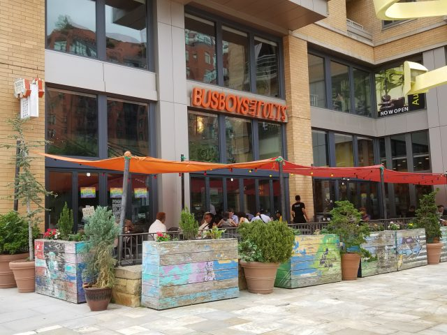 Busboys and Poets current location at 5th & K Streets NW