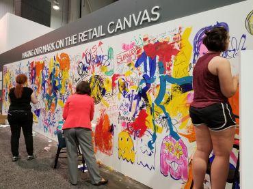 Live art show