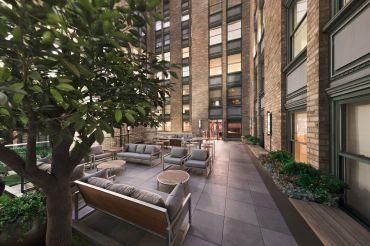 Helmsley Building Club Room Terrace