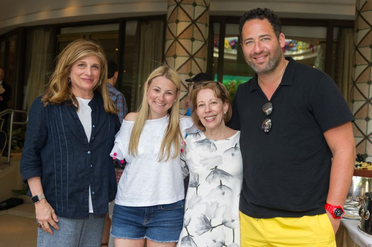 From left: Rebecca Olshan of Eastern Consolidated, Mindy Epstein, Robin Abrams of Eastern Consolidated and Jared Epstein of Aurora.