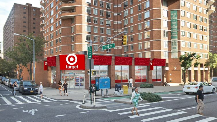 Target's planned store at 520 Second Avenue.